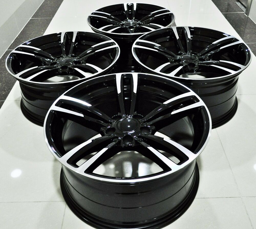 """19"""" 2016 M3 STYLE STAGGERED WHEELS RIMS FITS BMW 1 3 4 5 6"""