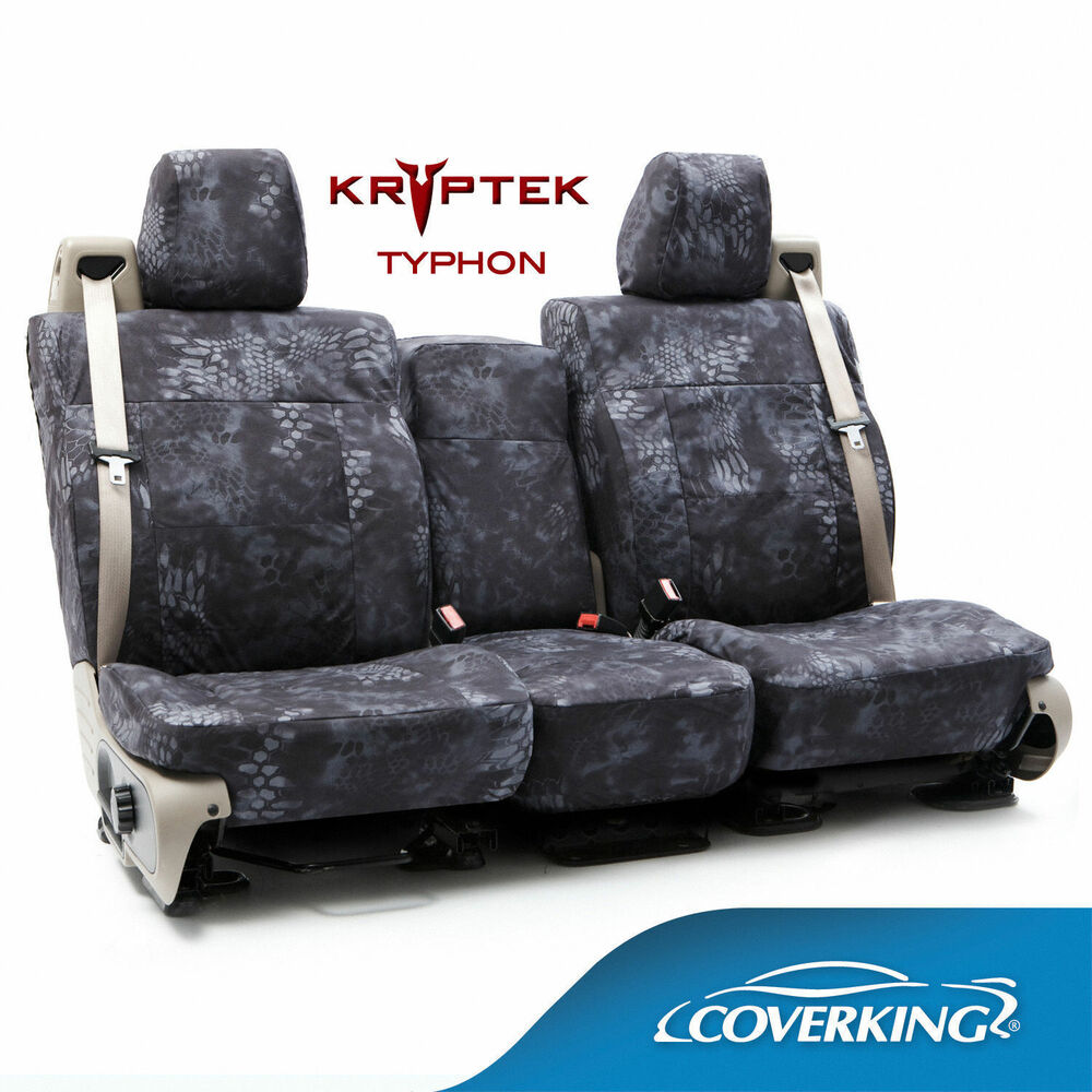 Coverking Kryptek Cordura Ballistic Custom Seat Covers For