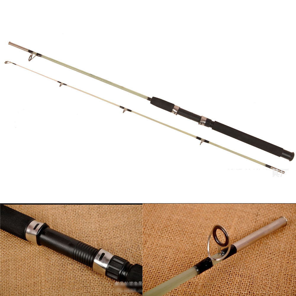 Outdoors long shot fishing rod lure rod 2 sections for Shooting fishing rod
