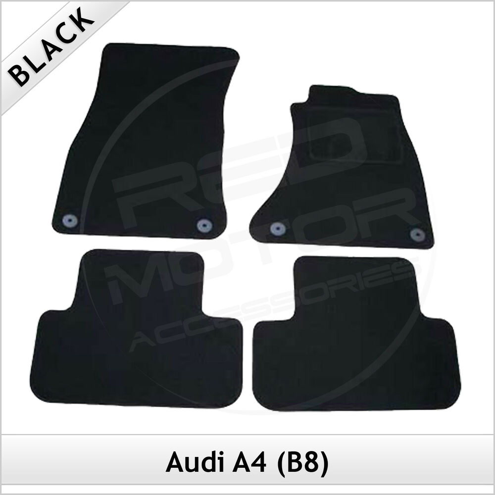 audi a4 estate avant b8 2008 2015 tailored fitted carpet. Black Bedroom Furniture Sets. Home Design Ideas