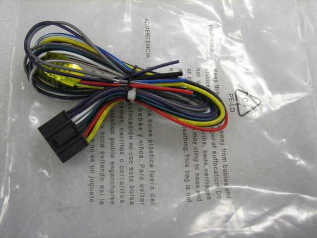 s l1000 new dual wire harness cd770,xdmr7700,xdm7510,deh665 ebay dual model cd770 wiring harness at crackthecode.co