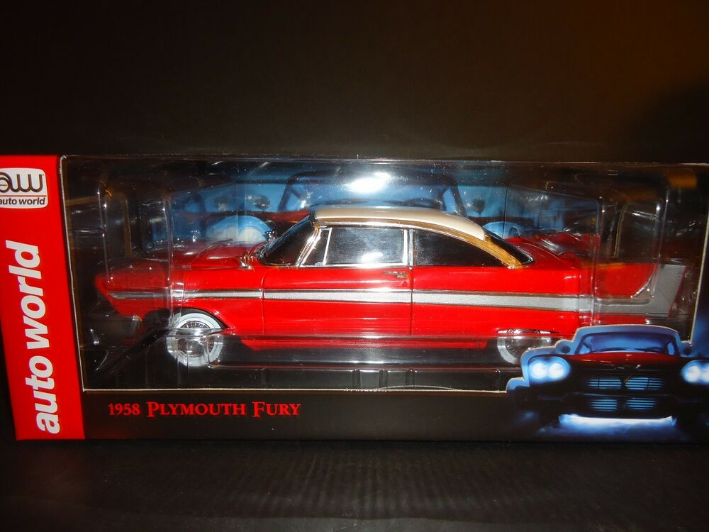 auto world plymouth fury 1958 christine night time version. Black Bedroom Furniture Sets. Home Design Ideas