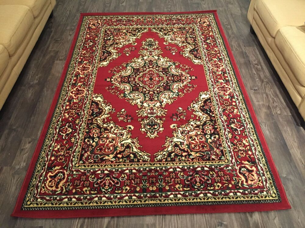 Rugs area beautiful traditional persian style large area for Area carpets and rugs