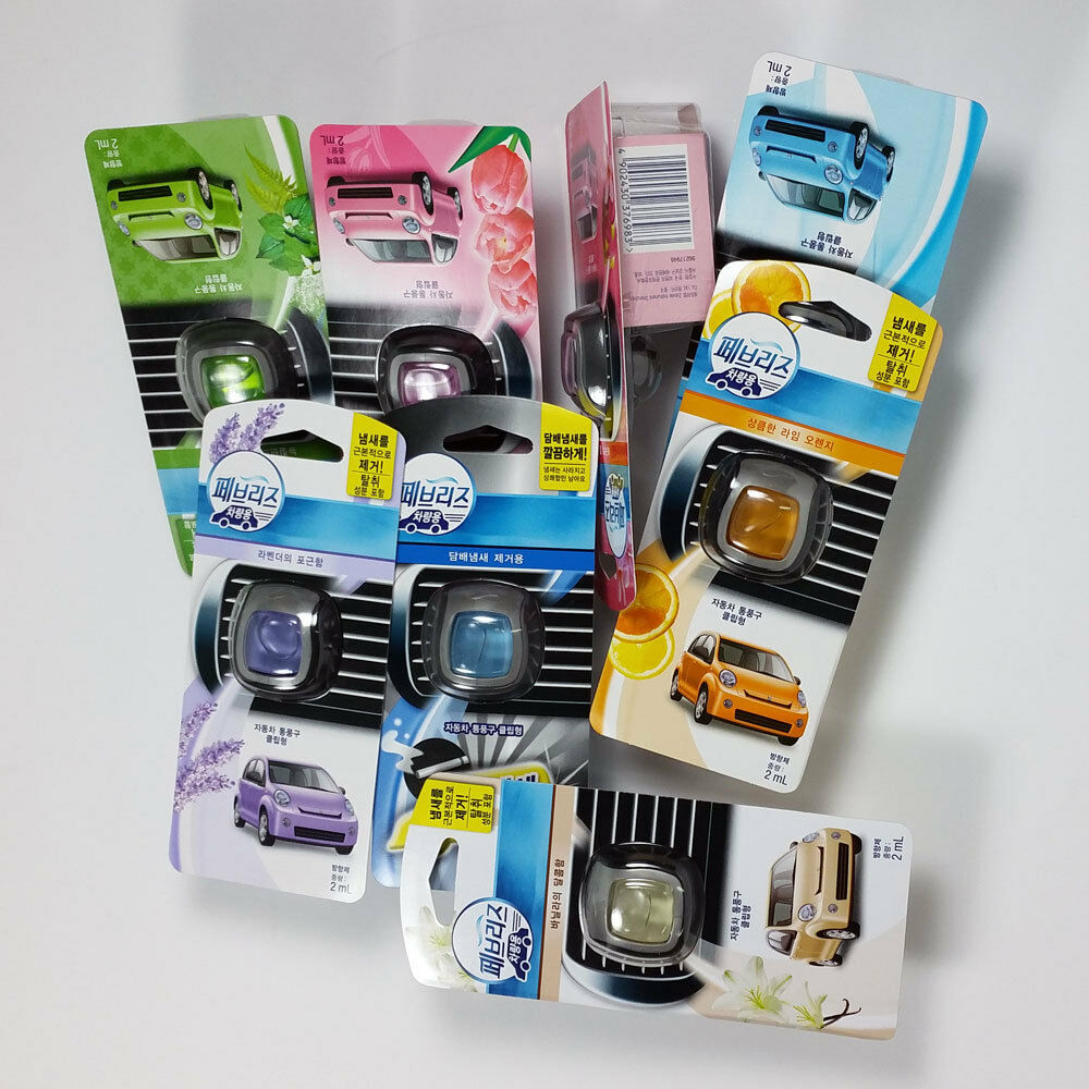 Febreze Car Vent Clips Air Freshener Odor Eliminator New: 3pcs FEBREZE Car Air Fresheners & Odor Eliminator With