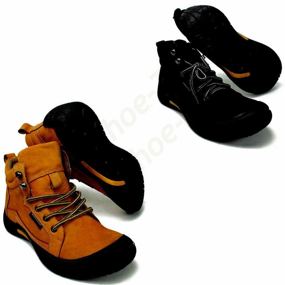 new leather waterproof work hiking trail comfortable