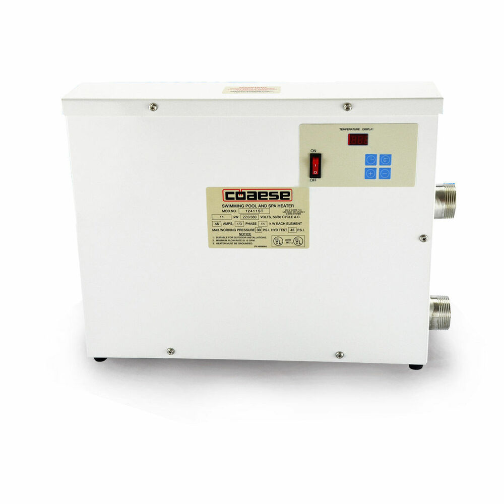 11kw 220v Automatic Swimming Pool Thermostat Spa Heater