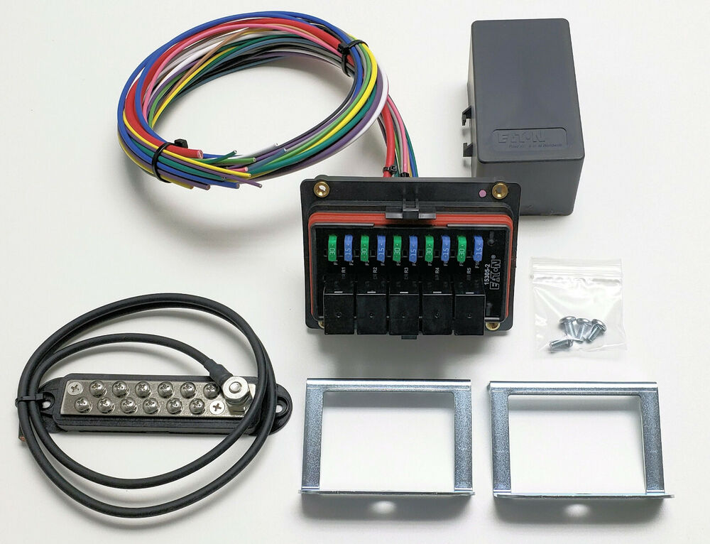 Wiring Fuse Box Automotive : Universal waterproof relay fuse distribution box cooper