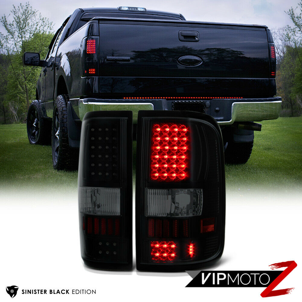 2004 2008 Ford F150 Lobo Quot Sinister Black Quot Smd Led Rear