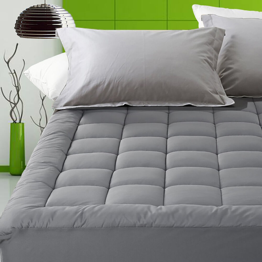 Fitted Deep Pocket Mattress Protector Bed Bug Water Proof