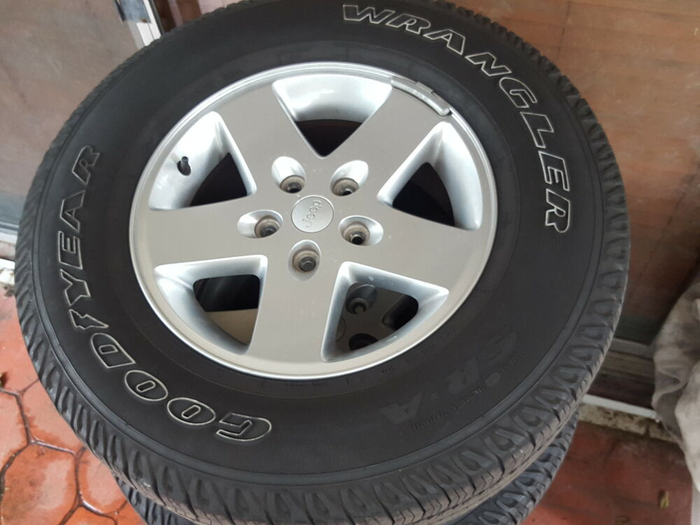 Jeep Wrangler Rims And Tire Packages >> Jeep wheels and tires | eBay