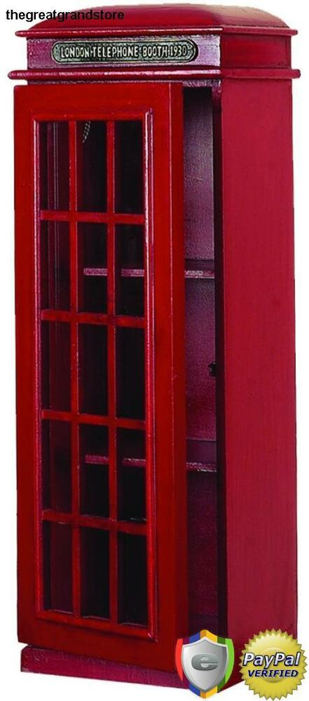 Phone Booth Cd Multimedia Holder Pay Telephone Vintage Cabinet 3 Tier Shelf Rack Ebay