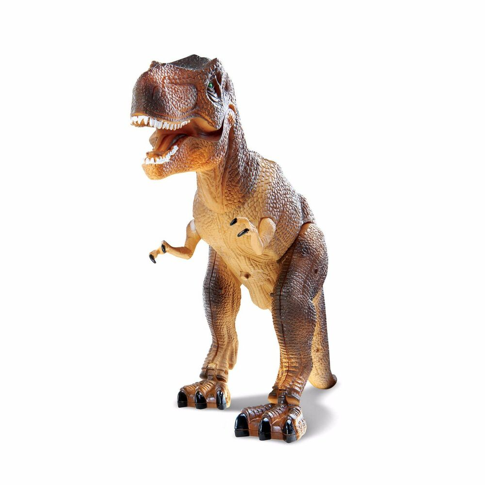 Wireless Remote Control Toy Dinosaur T-Rex RC Animated Action Sound Effects New   eBay