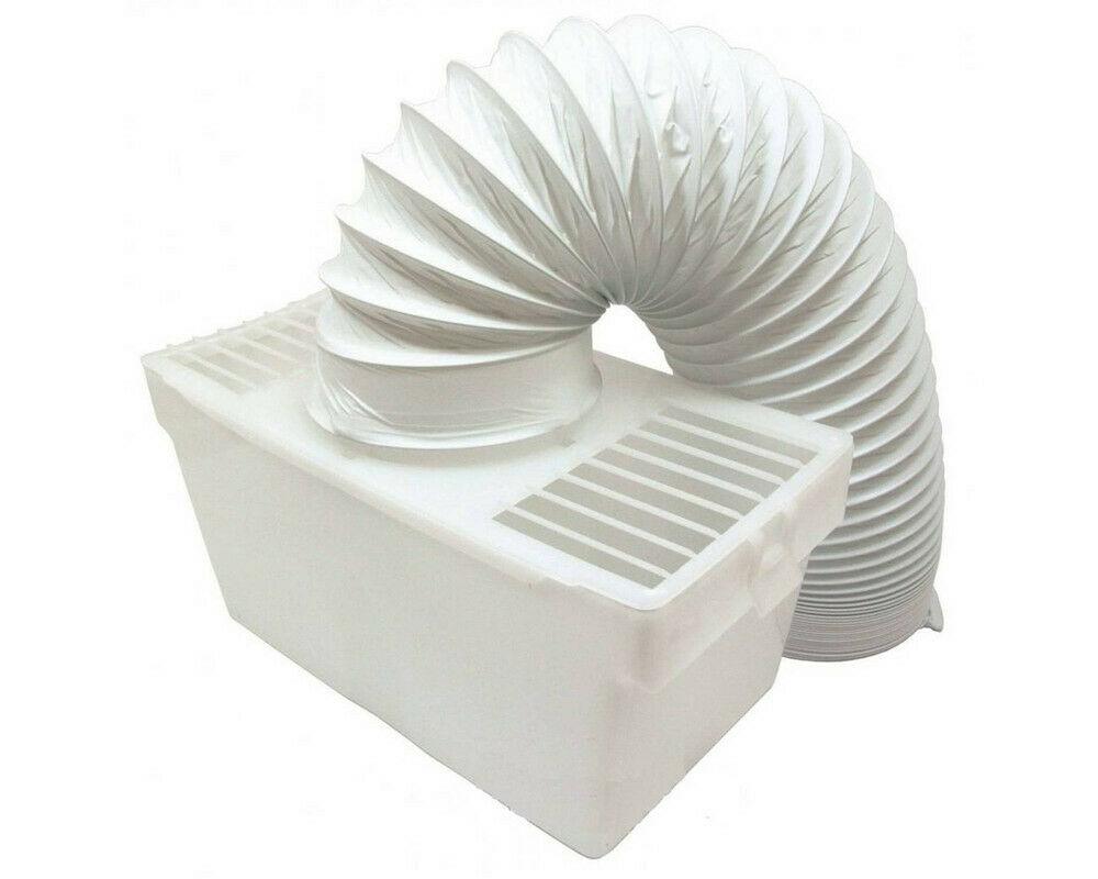 Clothes Dryer Vent Box ~ Indoor condenser vent kit box with hose for acec tumble