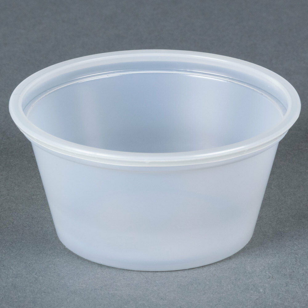 Plastic Cups With Lids : Ct oz portion cups no lids jello shots samples