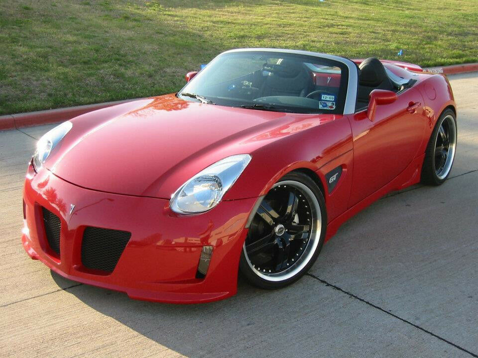 pontiac solstice custom front bumper replacement rk sport 26012001 with grille ebay. Black Bedroom Furniture Sets. Home Design Ideas