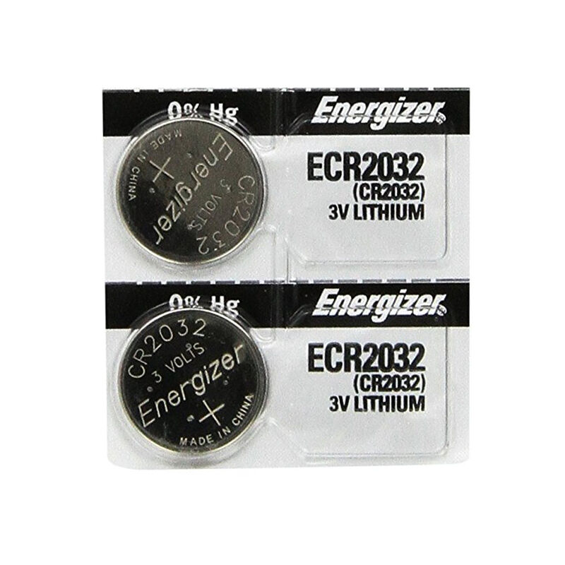2 pcs energizer 2032 ecr2032 cr2032 3v lithium button cell. Black Bedroom Furniture Sets. Home Design Ideas
