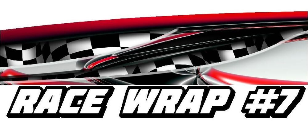 Race Car Graphics 7 Half Wrap Vinyl Decal Imca Late