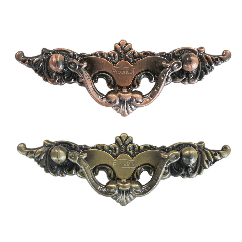 Vintage Kitchen Cabinet Pulls Door Handles Drawer Knobs Antique Bronze Copper 64 Ebay