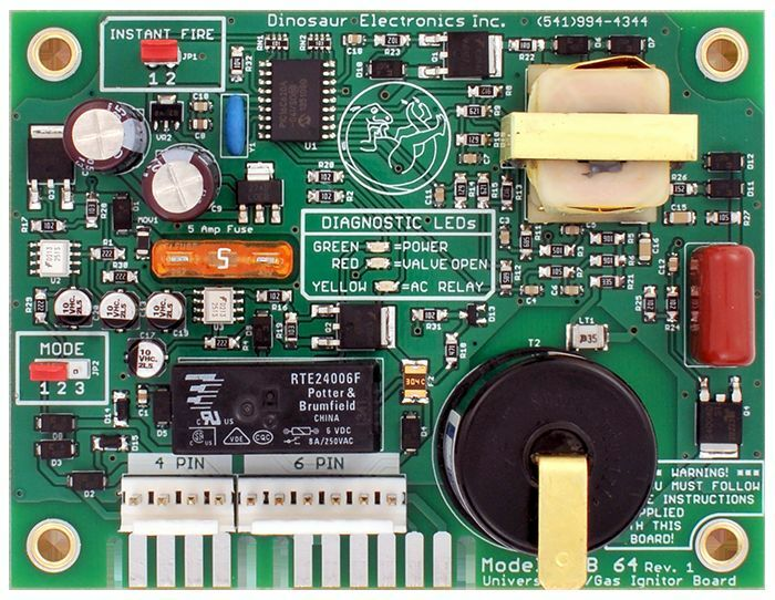 Dinosaur Electronics Uib 64 Pc Board For The Atwood Water