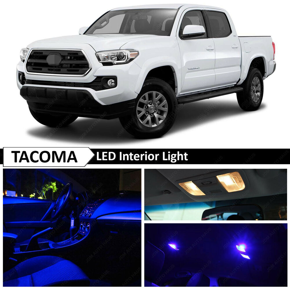 12x 2016 2018 toyota tacoma interior blue interior led - 2015 honda accord interior illumination ...