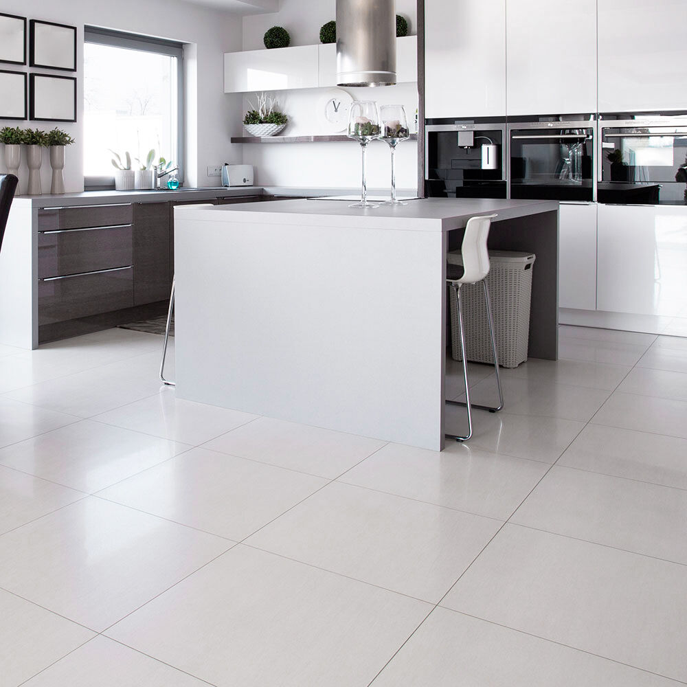 These Large Format Off White Tiles Are Suitable For Use On Both Walls And Floors Will Add A Fresh