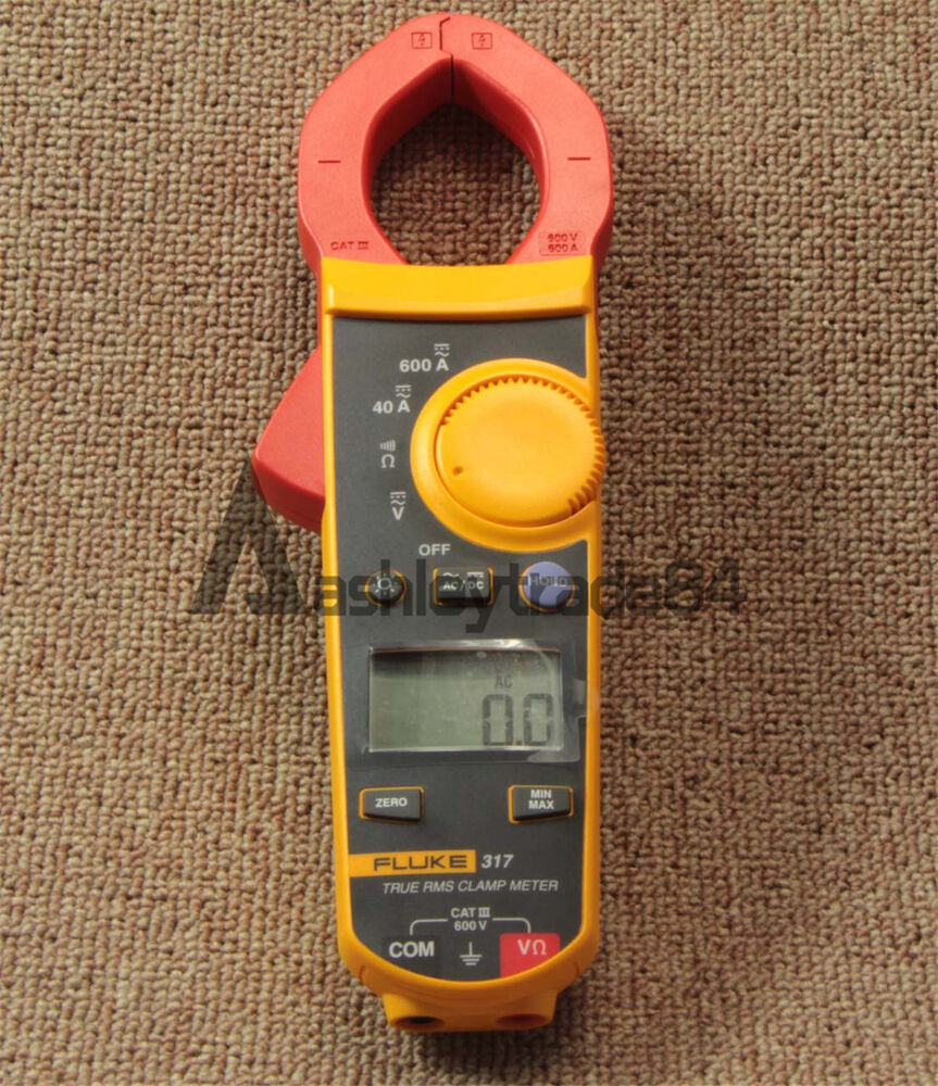 A Digital Clamp Meter 400 : Fluke digital clamp meter multimeter f a ebay