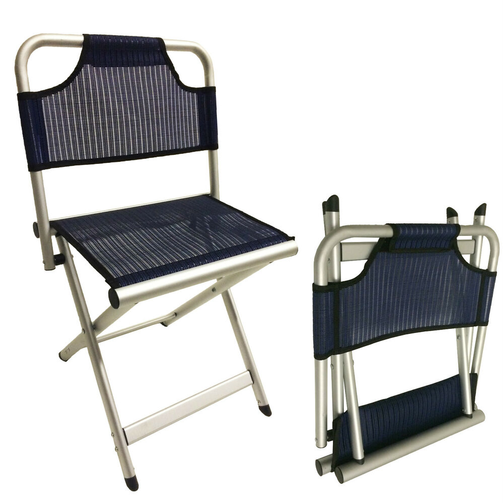 Large Camping Aluminium Folding Stool Chair With