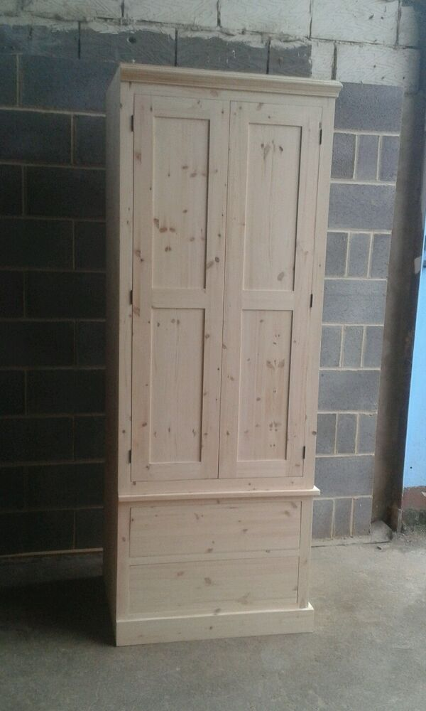 NEW SOLID WOOD PINE KITCHEN LARDER UNIT CUPBOARD MADE TO MEASURE EBay