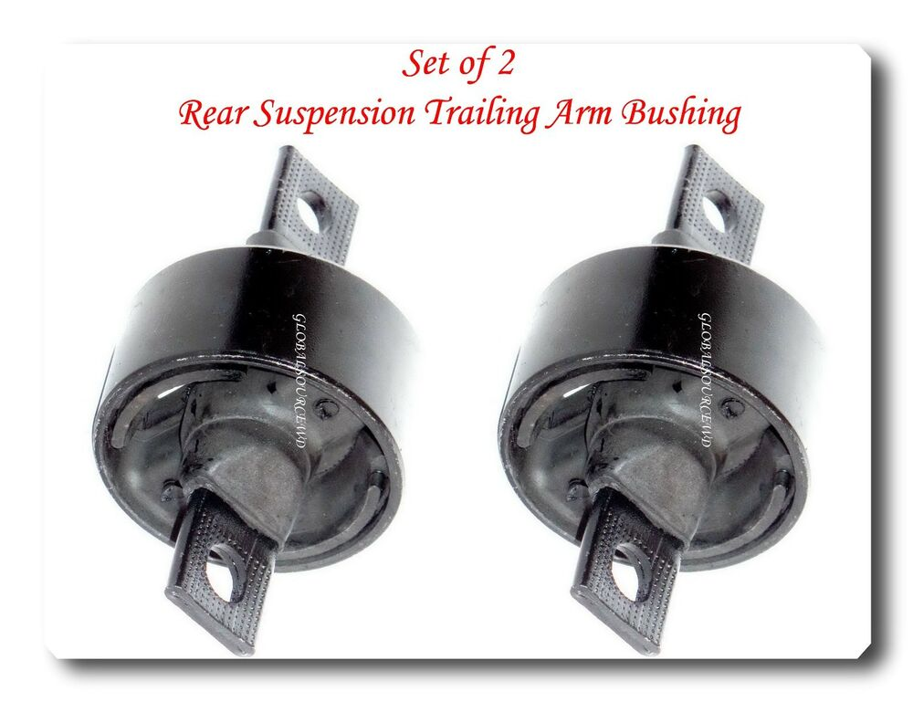 Set 2 Rear Suspension Trailing Arm Bushing Fits Integra