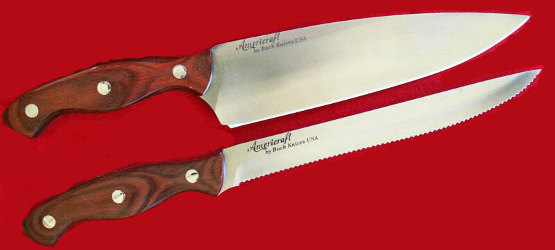 usa made kitchen knives buck kitchen knives cutlery americraft new 8 quot chef 8 22518