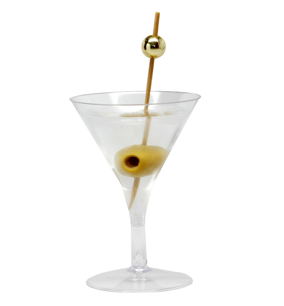 Oz Plastic Martini Glasses Bulk