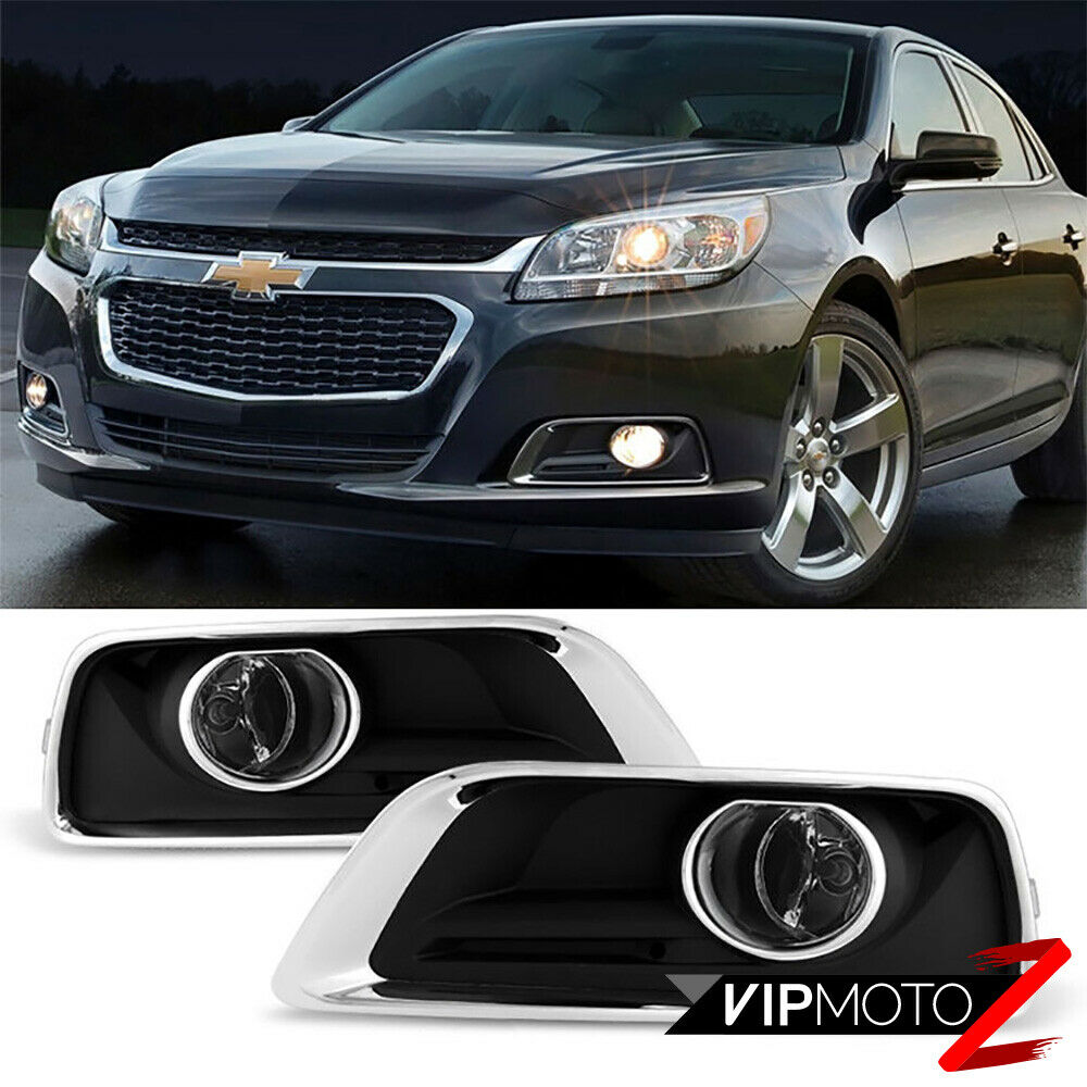 2013 2014 2015 chevrolet malibu chrome trim front foglight. Black Bedroom Furniture Sets. Home Design Ideas