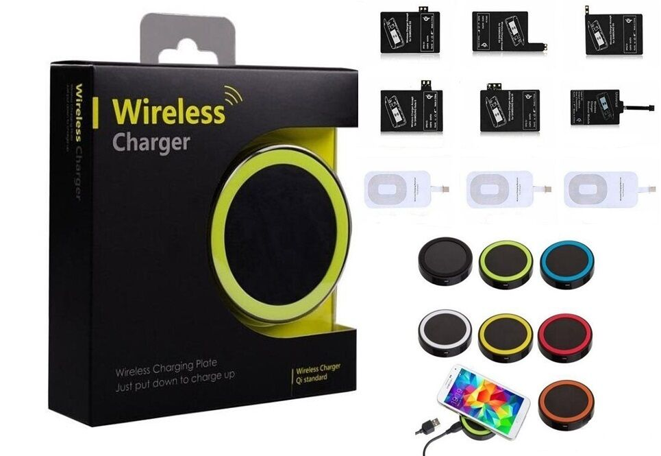 universal qi wireless charger ladeger t qi wireless. Black Bedroom Furniture Sets. Home Design Ideas