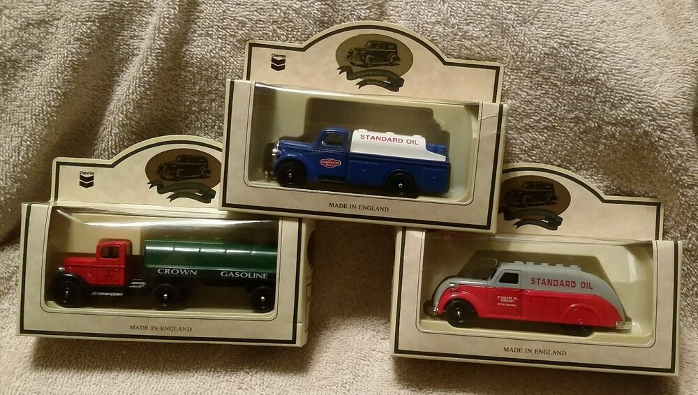Set of 3 Chevron Die-cast Commemorative Models by Lledo ...