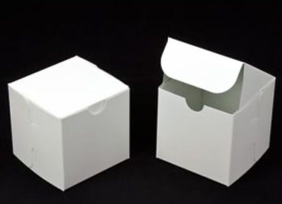 Wedding Favor Boxes White : Lot white wedding favor candy gift boxes x quot party
