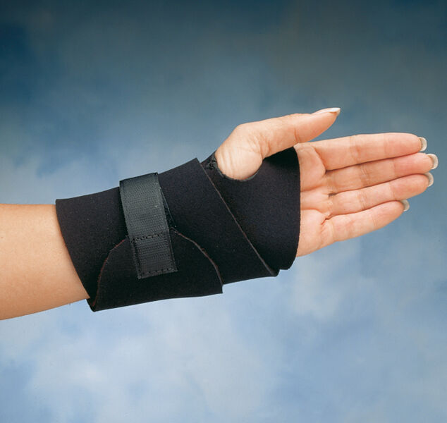 North Coast Medical Comfort Cool Wide Wrist Support One