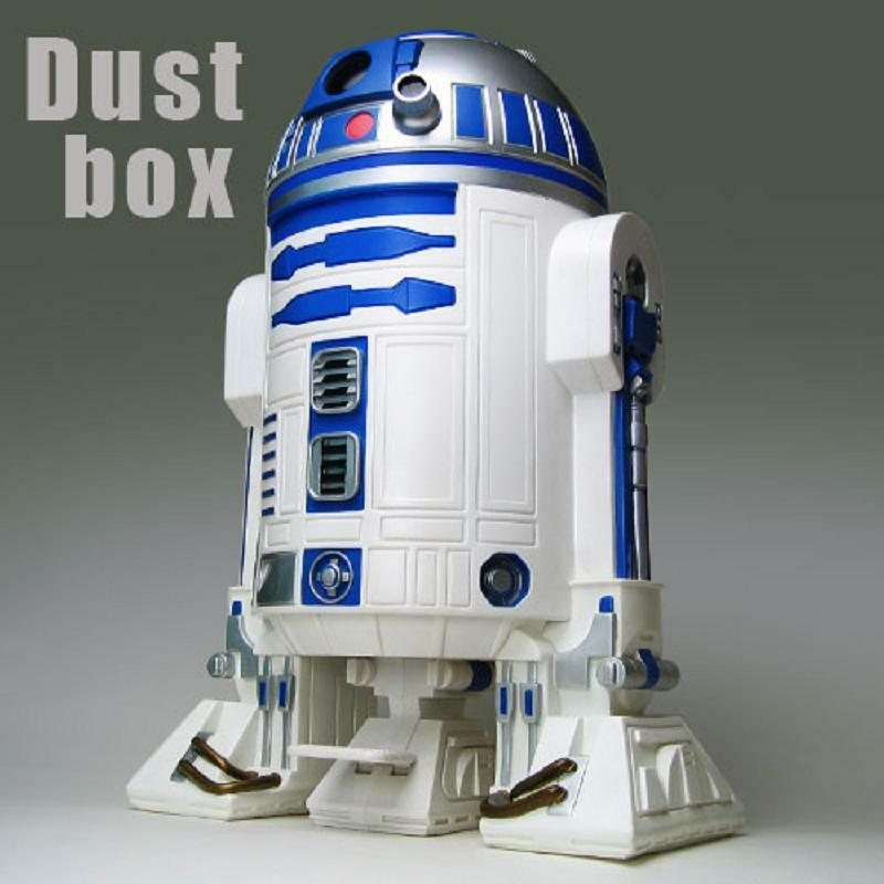 Star wars r2 d2 big 60 cm 23 6 trash can dust box wastebasket japan new fs ebay - Cool wastebaskets ...