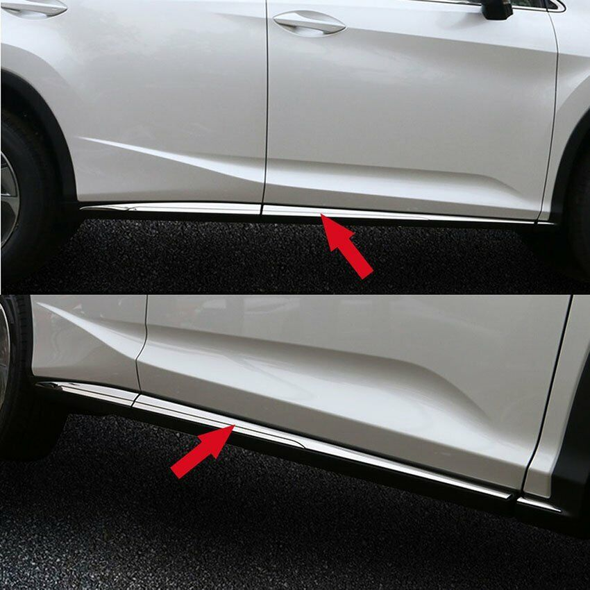 Fit Lexus New Rx350 Rx450h 2016 2017 Body Side Molding