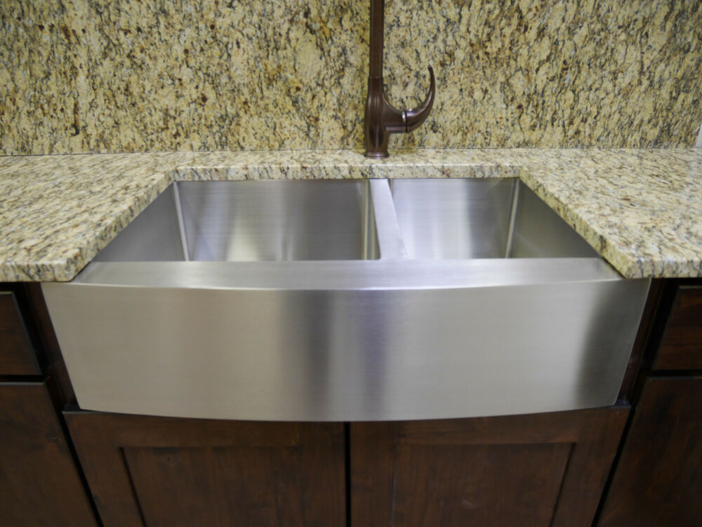 twin bowl kitchen sinks 33 quot stainless steel farmhouse front apron bowl 6417