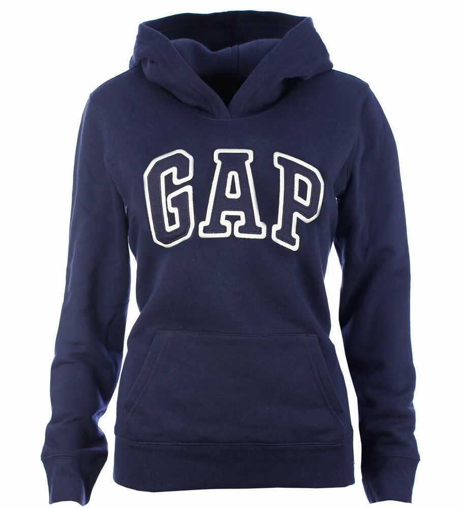 gap damen hoodie kapuzenpullover pullover navy size xs xxl ebay. Black Bedroom Furniture Sets. Home Design Ideas