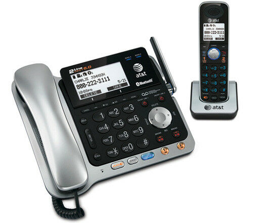 at t corded phone with digital answering machine