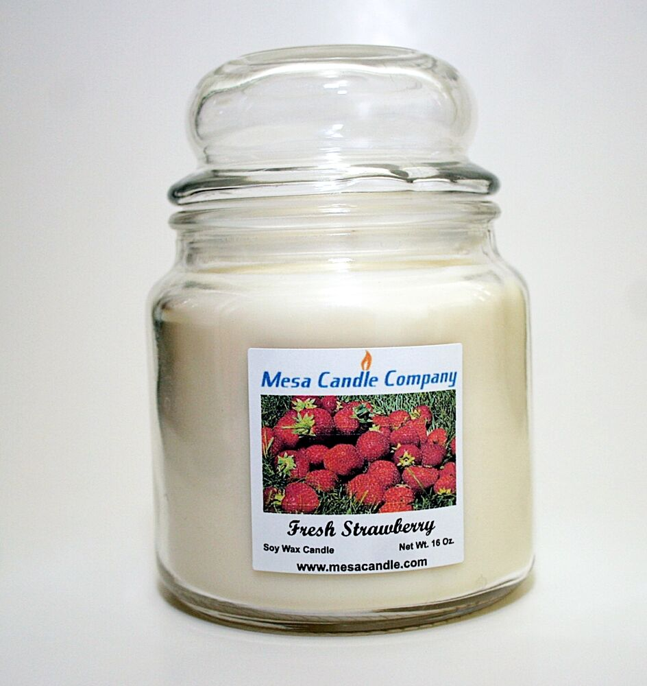 Soy wax candle 16 oz richly scented mesa candle company for Aroma candle and scent company