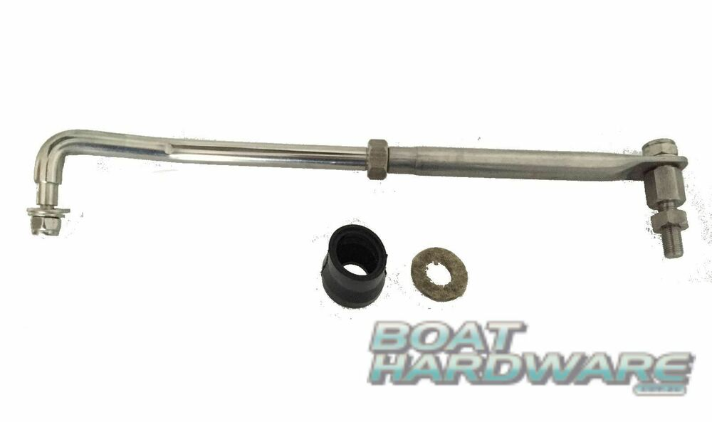 Link Hydraulic Arm : Outboard tiller steering link arm kit stainless steel