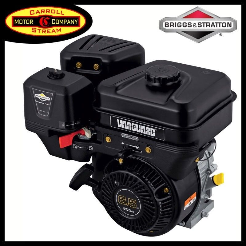 Briggs stratton vanguard small gas engine 6 5 hp 13l332 for Briggs and stratton 5hp motor