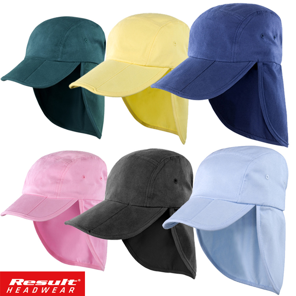 Result Legionnaire Hat Cap Sun Protection Neck Flap Ear
