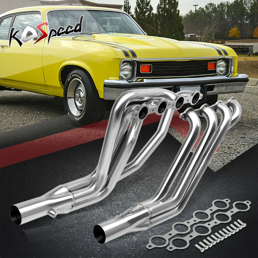 LS SWAP LONG-TUBE STAINLESS STEEL HEADER EXHAUST FOR 67-74