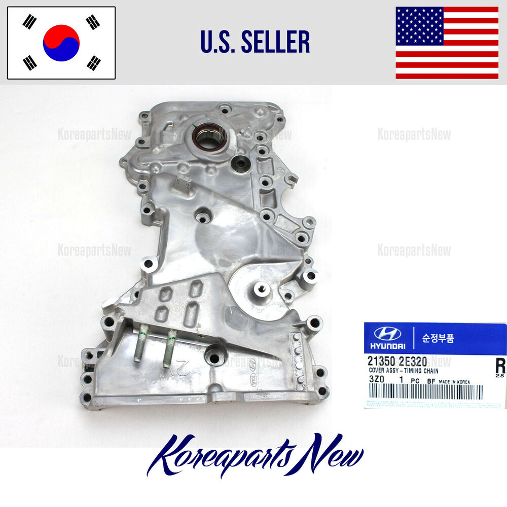 Timing Chain Front Cover 213502e030 Soul 2 0l 2012 2014