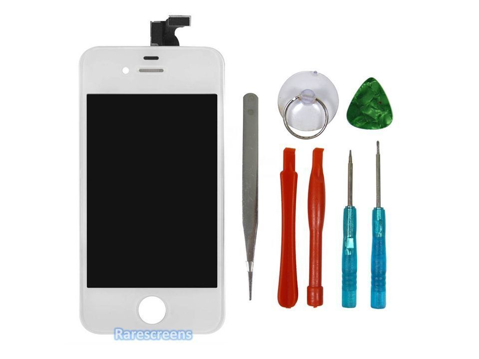 iphone white screen new iphone 4s screen amp digitizer white a1387 ebay 12491