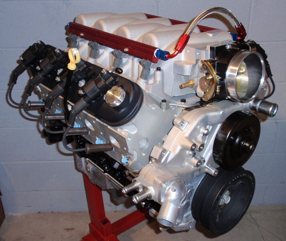 All Chevy 6.0 chevy engine : CHEVY 6.0L 366 LQ4 LS2 LS6 /404 HORSE COMPLETE FI CRATE ENGINE/PRO ...