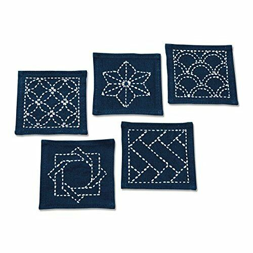 Orimupasu Embroidery Kit Japanese Pattern 223 Sashiko
